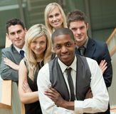 Business team looking at the camera Royalty Free Stock Photos