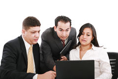 Business team looking shocked Stock Images