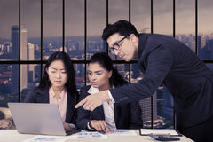 Business team making job plans Stock Photo