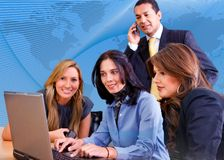 Business team in a meeting Royalty Free Stock Photography