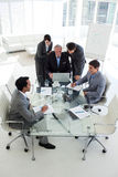 Business team in a meeting Royalty Free Stock Photo