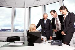 Business team at the meeting Royalty Free Stock Photography