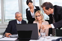 Business team at the meeting Royalty Free Stock Photos