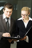 Business team at a meeting Stock Images