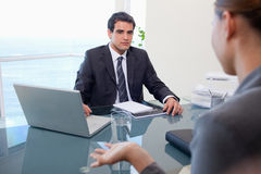 Business team during a meeting Stock Images