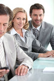 Business team in meeting Royalty Free Stock Images