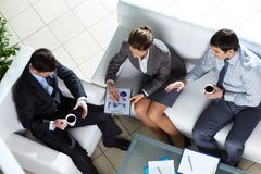 Business team at meeting Stock Images
