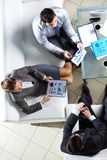 Business team at meeting Stock Photography