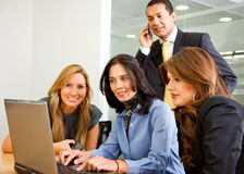Business team in a meeting Stock Photos