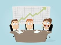 Business team in meeting. Clipart Stock Photo