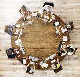 Business Team Meeting Connection Digital Technology Concept.  Royalty Free Stock Photography