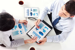 Business team at the meeting Royalty Free Stock Image