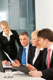 Business - team meeting in an office Stock Images