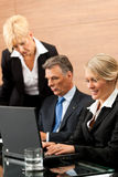 Business - team meeting in an office Stock Photos