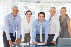 Business team during meeting Royalty Free Stock Photos