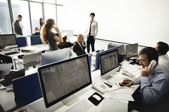 Business Team Meeting Working Busy Concept Royalty Free Stock Images