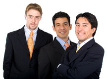 Business team - men only Stock Photos