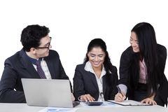 Business team of multiracial people Stock Photography