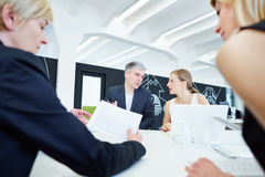 Business Team in negotiation Stock Photography