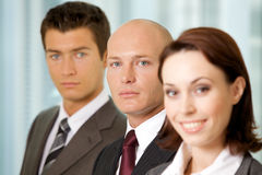 Business team in office Royalty Free Stock Photos