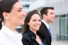 Business Team  at Office Royalty Free Stock Photo