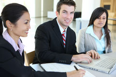 Business Team in Office Stock Photos