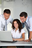 Business team in the office Royalty Free Stock Image