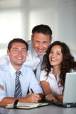 Business team in the office Royalty Free Stock Photo