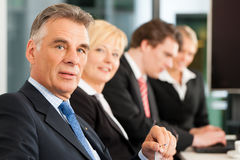 Business - team in office Royalty Free Stock Photography