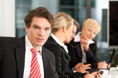Business - team in office Royalty Free Stock Photo