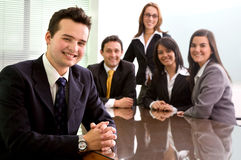 Business team in an office Stock Photography