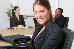Business Team in Office Stock Image