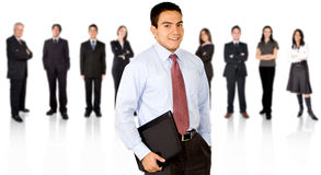 Business team in an office Royalty Free Stock Photos