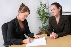 Business Team in Office Royalty Free Stock Images