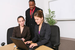 Business Team in Office Stock Images