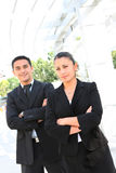 Business Team at Office Building Stock Photos