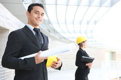 Business Team at Office Construction Site Stock Photos