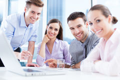 Business team at the office Stock Image