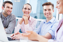 Business team at the office Royalty Free Stock Image