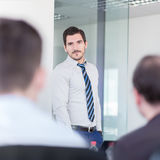 Business team office meeting. Stock Images