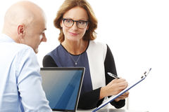 Business team at office Royalty Free Stock Photos