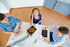 Business team in office Royalty Free Stock Image
