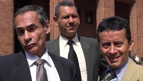 Business Team Of Older Men Stock Photo