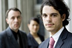 Business Team Outside Stock Photography