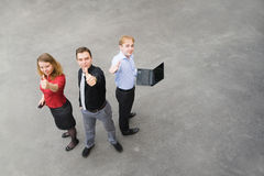 Business team is pleased with its success Stock Image