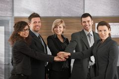 Business team portrait Royalty Free Stock Photography