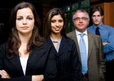 Business team portrait Stock Images