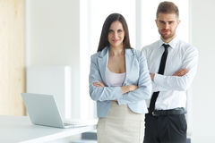 Business Team. Portrait of Successful Business People. Business stock photo