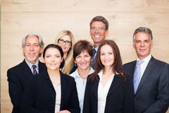 Business Team Posing Stock Photography