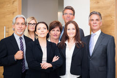 Business Team Posing Stock Photos